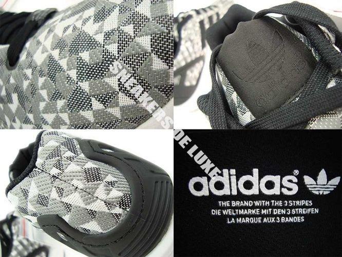 e28730699 Obuwie  B34472 adidas ZX Flux Weave White Core Black Solid Grey ...