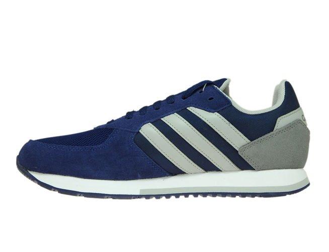 B44669 adidas 8K Dark BlueGrey Two Grey Three Sneakers de