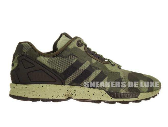 online store ebabe 72ace M19686 adidas ZX Flux Decon Camo Pack ...