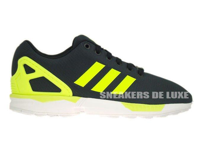 best cheap eedaf 67d8b M21325 adidas ZX Flux Black  Electricity  Running White ...