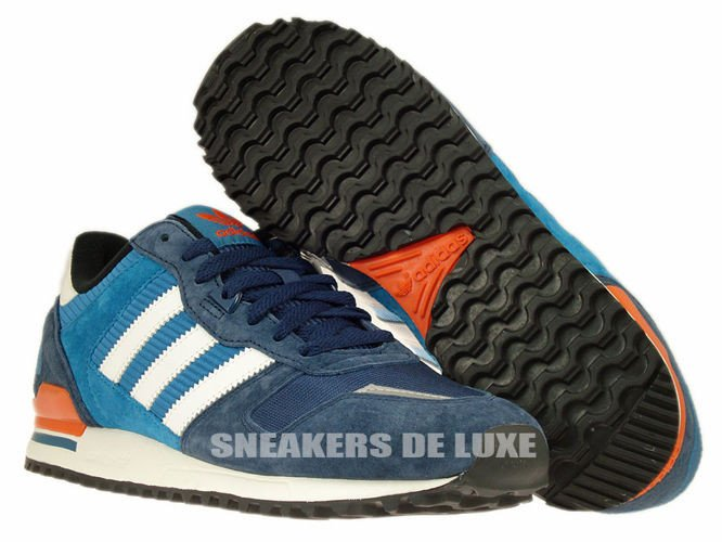 adidas ZX 700 shoes white blue