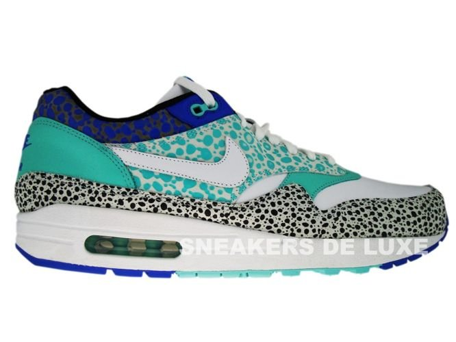 Nike Air Max 1 Premium White Mint Safari Print