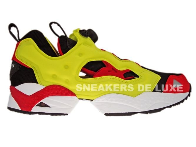 nice shoes offer discounts 100% quality Reebok Insta Pump Fury Respect Pack Black/Yellow/Red 1 ...