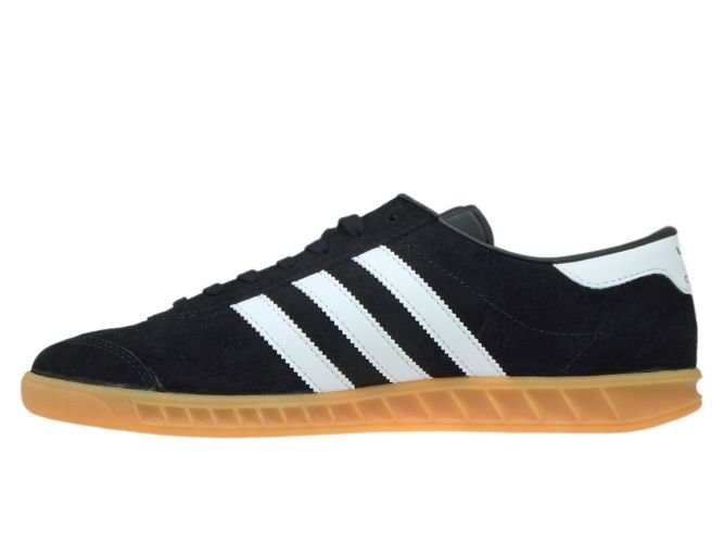 new products 267e5 37bcb ... S76696 adidas Hamburg Core BlackFtwr WhiteGum ...