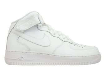 314195-113 Nike Air Force 1 MID White/White