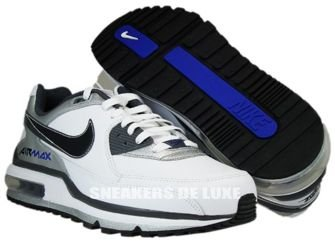 316391-123 Nike Air Max LTD II White/BlackDark Grey-Metallic Silver