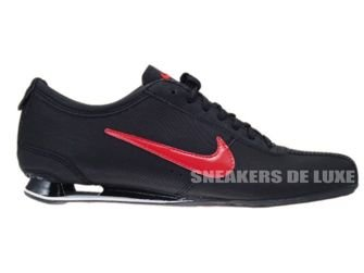 316800-060 Nike Shox Rivalry Black/Challenge Red-Black