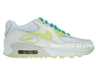 325213-107 Nike Air Max 90  Sail Citrine/Yellow