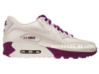 325213-120 Nike Air Max 90 Leather White/White