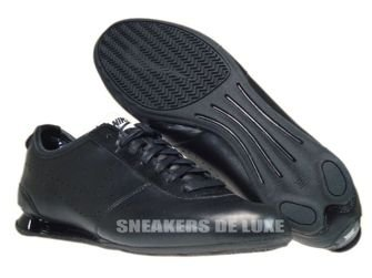 376508-007 Nike Shox Rivalry 2 Black/Black-White