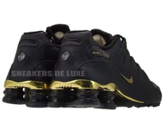 378341-200 Nike Shox NZ EU Velvet Brown / Metallic Gold