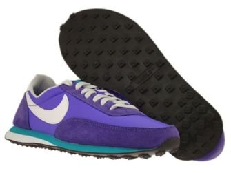 525383-502 Nike Elite Purple Venom/White-Court Purple-Tribe Green