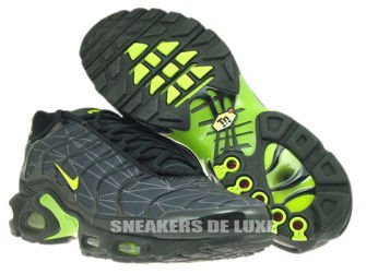 647315-070 Nike Air Max Plus TXT TN 1 Black/Volt-Dark Grey