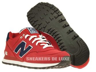 ML574POR New Balance Pique Polo Pack Red