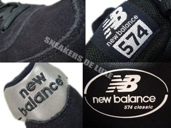 New Balance ML574CPN 574 Black/Silver