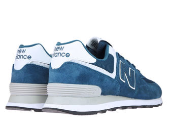 New Balance ML574ESM Sea Smoke with White