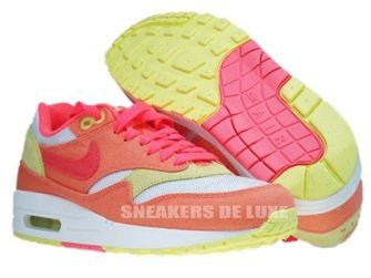 Nike Air Max 1 Melon Crush/Hot Punch-White-Yellow 319986-801