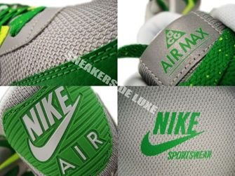 Nike Air Max 90 ACG Medium Grey/Volt-Victory Green