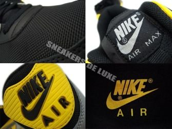Nike Air Max 90 Black/Varsity Maize
