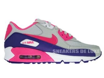 Nike Air Max 90 Neutral Grey/Pink Flash-Varsity Purple 325213-005