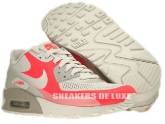 Nike Air Max 90 Premium Hyperfuse Medium Grey/Neutral Grey-Solar Red 454446-016