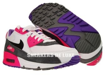 Nike Air Max 90 White/Black Cool Grey Pink  325213-103