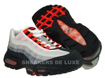 Nike Air Max 95 White/Team Orange-Neutral Grey-Medium Grey 609048-184