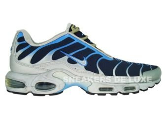 Nike Air Max Plus TN 1 Slip On Silver/Blue