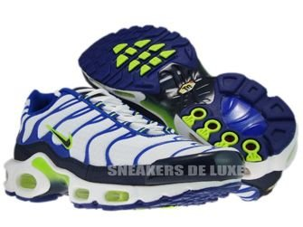 Nike Air Max Plus TN 1 White/Obsidian Volt