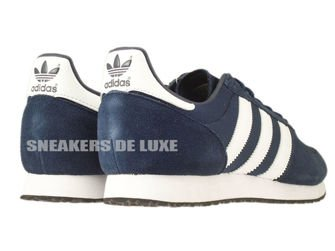 S79201 adidas ZX Racer Collegiate Navy / Ftwr White / Core Black
