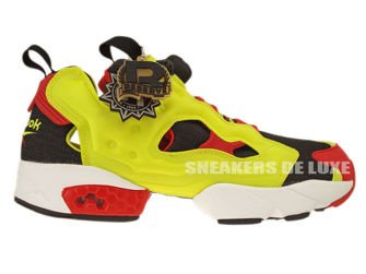 V47514 Reebok Insta Pump Fury OG 2014 Black/Green/Red/White