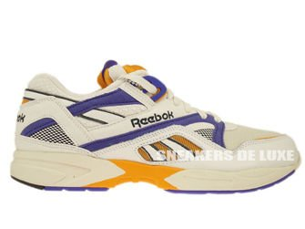 V60183 Reebok Pump Graphlite Vintage Chalk/Sandtrap/Purple